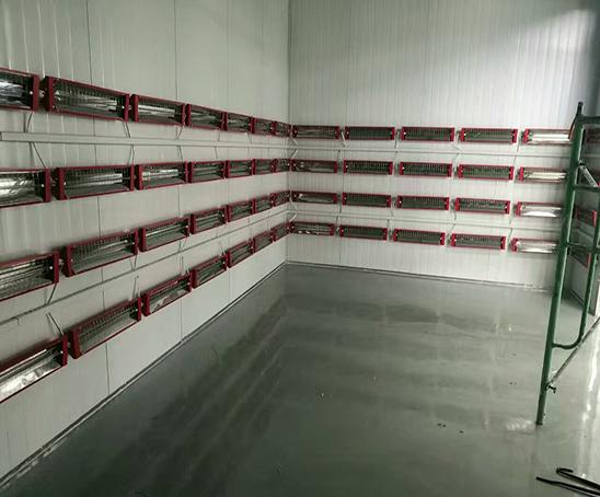 电机热高温房内景