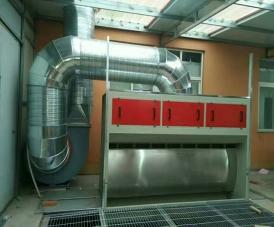 无泵水幕漆雾净化设备