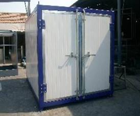 吊装式高温固化房